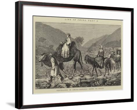Life in China, Part X--Framed Art Print