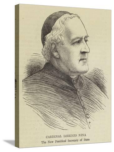 Cardinal Lorenzo Nina--Stretched Canvas Print