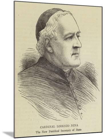 Cardinal Lorenzo Nina--Mounted Giclee Print