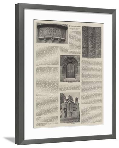 Watts Mortuary Chapel--Framed Art Print