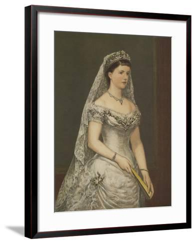 The Duchess of Albany--Framed Art Print