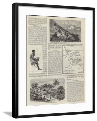 The Germans in Africa--Framed Art Print