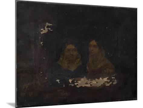 Portrait of Two Women--Mounted Giclee Print