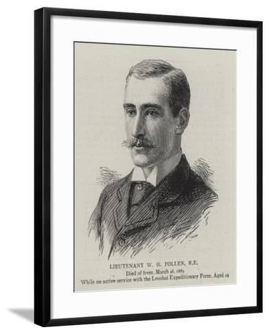 Lieutenant W H Pollen--Framed Art Print