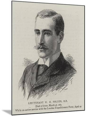 Lieutenant W H Pollen--Mounted Giclee Print