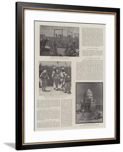 The Soudan Rebellion--Framed Art Print