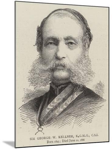 Sir George W Kellner--Mounted Giclee Print