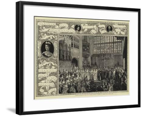 Albert and Alexandra--Framed Art Print