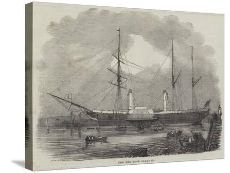 The Bentinck Steamer--Stretched Canvas Print