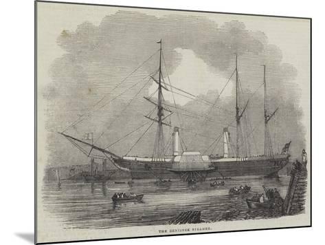 The Bentinck Steamer--Mounted Giclee Print
