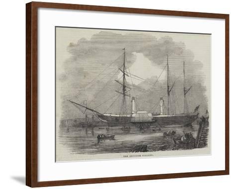 The Bentinck Steamer--Framed Art Print