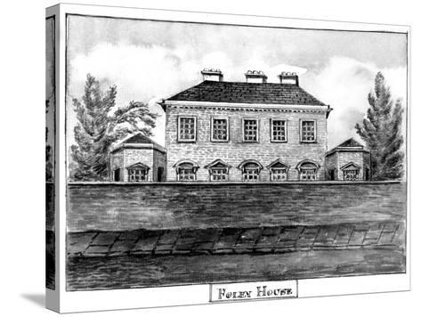 Foley House, C.1800--Stretched Canvas Print