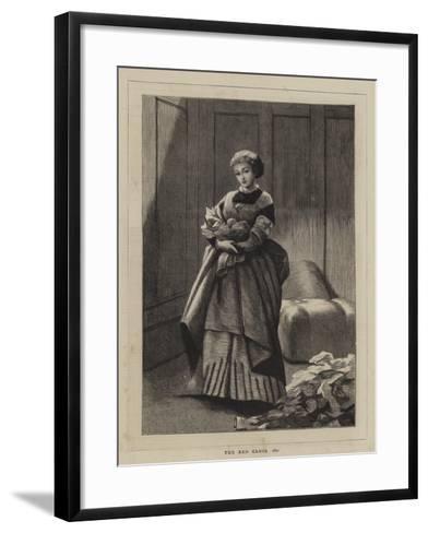 The Red Cross, 1870--Framed Art Print