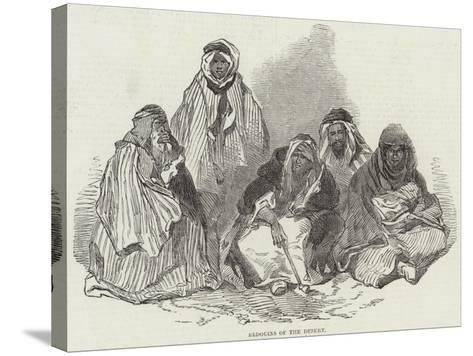 Bedouins of the Desert--Stretched Canvas Print