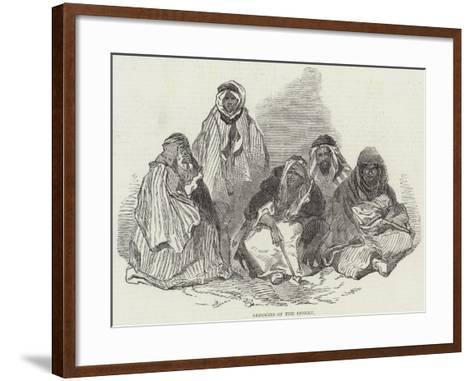 Bedouins of the Desert--Framed Art Print
