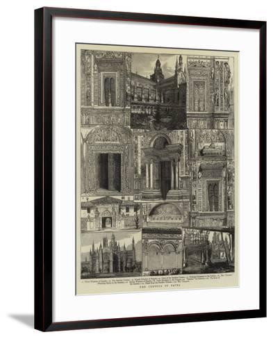 The Certosa of Pavia--Framed Art Print