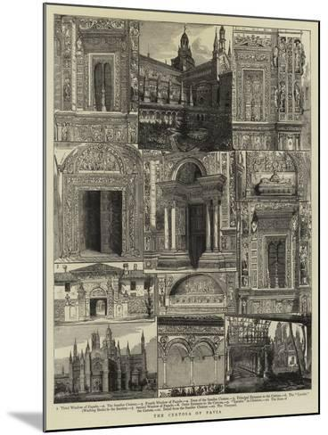 The Certosa of Pavia--Mounted Giclee Print