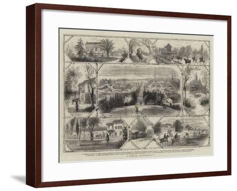 A Roman Tattersall'S--Framed Art Print