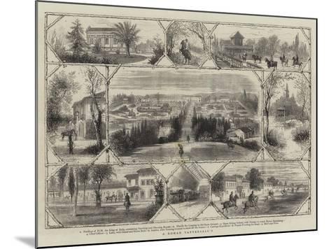 A Roman Tattersall'S--Mounted Giclee Print