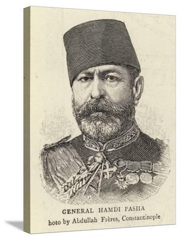 General Hamdi Pasha--Stretched Canvas Print