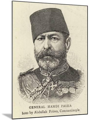 General Hamdi Pasha--Mounted Giclee Print
