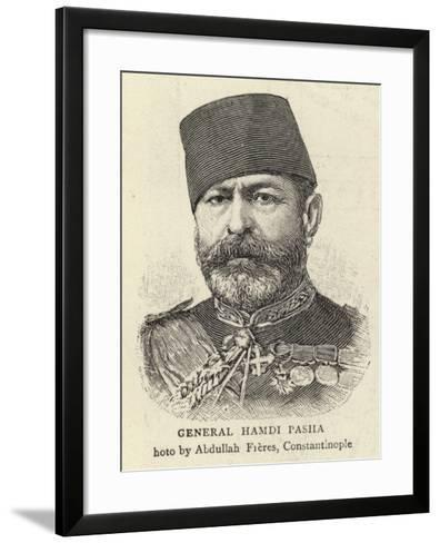 General Hamdi Pasha--Framed Art Print