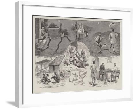 The Looted Linen Chest--Framed Art Print