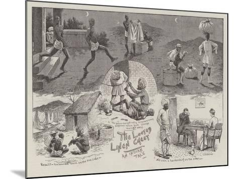 The Looted Linen Chest--Mounted Giclee Print