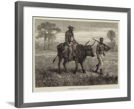 Travelling in Angola--Framed Art Print