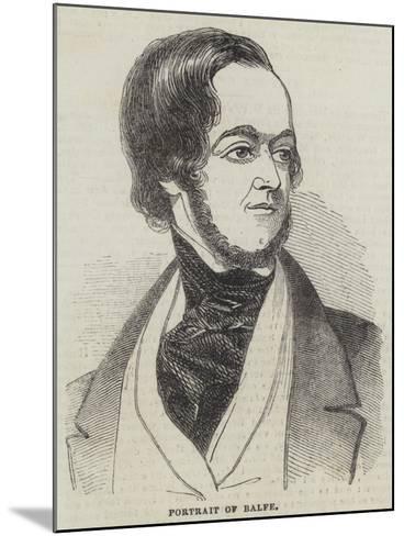 Michael William Balfe--Mounted Giclee Print