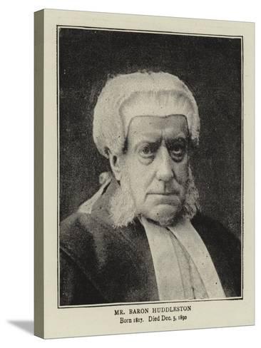 Mr Baron Huddleston--Stretched Canvas Print