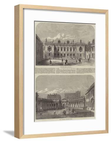 Burlington House--Framed Art Print