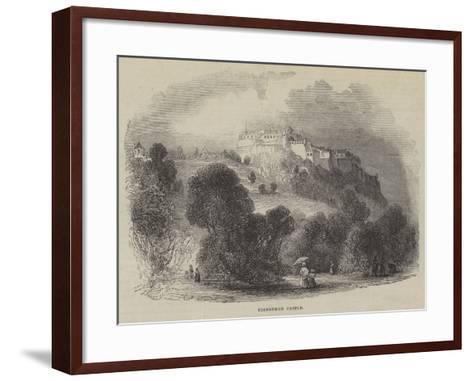 Edinburgh Castle--Framed Art Print