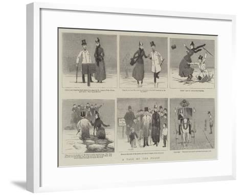 A Tale of the Frost--Framed Art Print