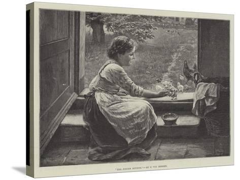 The Foster Mother--Stretched Canvas Print