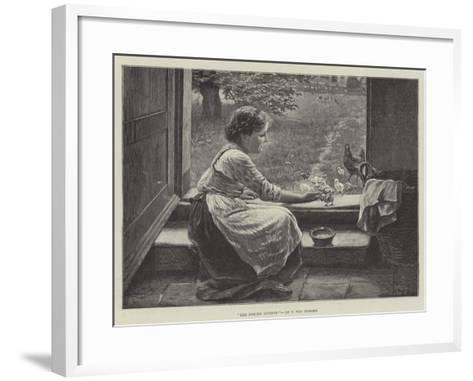 The Foster Mother--Framed Art Print