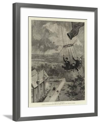 A Critical Moment--Framed Art Print