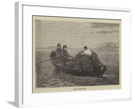 The Bracken Boat--Framed Art Print