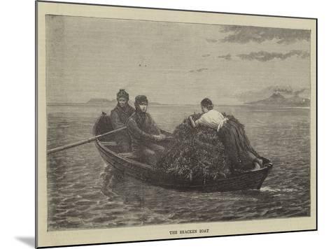 The Bracken Boat--Mounted Giclee Print