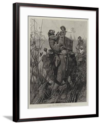 At Close Quarters--Framed Art Print