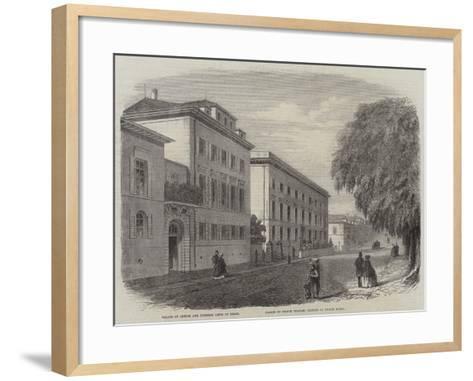 View in Darmstadt--Framed Art Print