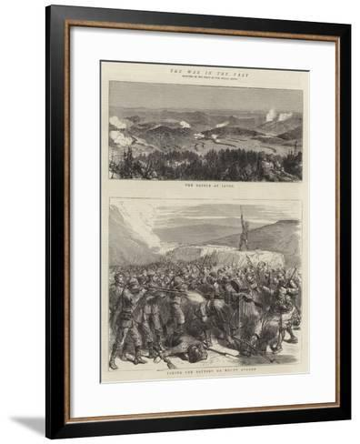 The War in the East--Framed Art Print