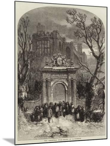 The Christmas Dole--Mounted Giclee Print