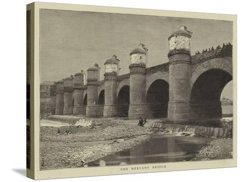 The Mercado Bridge--Stretched Canvas Print