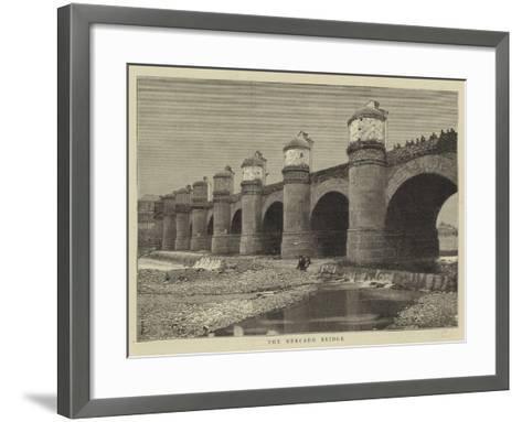 The Mercado Bridge--Framed Art Print