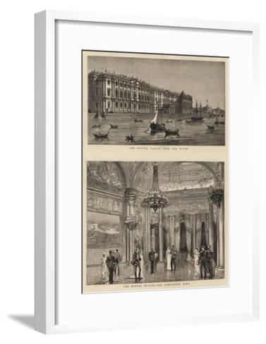 The Winter Palace--Framed Art Print