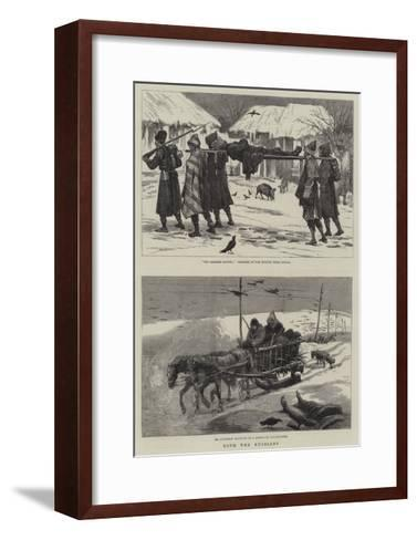 With the Russians--Framed Art Print