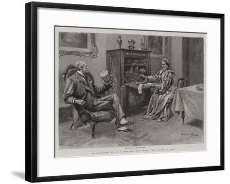 The Despotic Lady--Framed Art Print