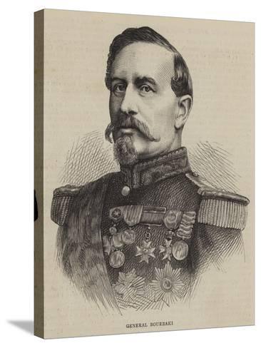 General Bourbaki--Stretched Canvas Print