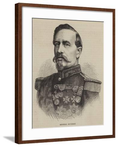 General Bourbaki--Framed Art Print